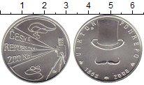 Изображение Монеты Европа Чехия 200 крон 2008 Серебро UNC