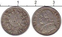 Изображение Монеты Европа Ватикан 5 сольди 1867 Серебро XF