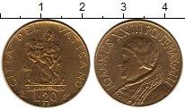 Изображение Монеты Ватикан 20 лир 1961 Латунь UNC-