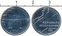 Изображение Монеты Сан-Марино 100 лир 1990 Алюминий XF