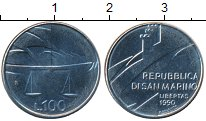 Изображение Монеты Европа Сан-Марино 100 лир 1990 Алюминий XF