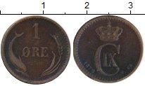 Изображение Монеты Европа Дания 1 эре 1879 Бронза XF