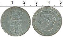 Изображение Монеты Швеция 1 крона 1966 Медно-никель XF-