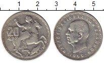 Изображение Монеты Греция 20 драхм 1960 Серебро XF