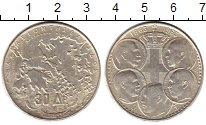 Изображение Монеты Европа Греция 30 драхм 1963 Серебро UNC-