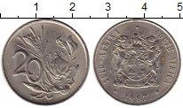 Изображение Монеты ЮАР 20 центов 1987 Медно-никель XF