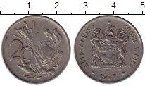 Изображение Монеты ЮАР 20 центов 1977 Медно-никель XF