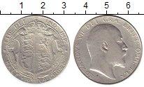 Изображение Монеты Великобритания 1/2 кроны 1909 Серебро XF-