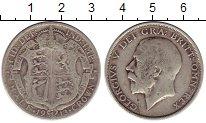 Изображение Монеты Великобритания 1/2 кроны 1913 Серебро VF