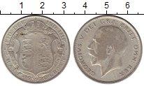 Изображение Монеты Великобритания 1/2 кроны 1920 Серебро VF