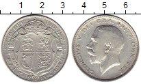 Изображение Монеты Европа Великобритания 1/2 кроны 1913 Серебро XF-