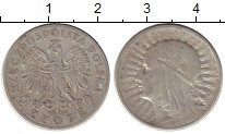 Изображение Монеты Польша 2 злотых 1934 Серебро XF-