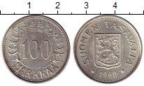 Изображение Монеты Европа Финляндия 100 марок 1960 Серебро XF