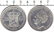 Изображение Монеты Нидерланды 2 1/2 гульдена 1932 Серебро XF