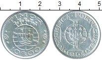 Изображение Монеты Азия Тимор 10 эскудо 1964 Серебро XF