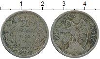 Изображение Монеты Чили 20 сентаво 1922 Медно-никель VF