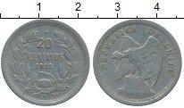 Изображение Монеты Чили 20 сентаво 1932 Медно-никель XF Кондор