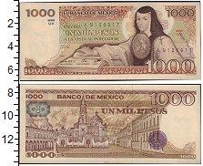 Изображение Банкноты Мексика 1000 песо 1963  XF