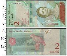 Изображение Банкноты Южная Америка Венесуэла 2 боливара 2018  UNC
