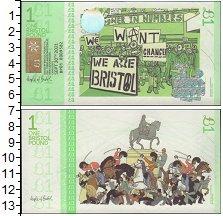 Изображение Банкноты Великобритания 1 фунт 2012  UNC