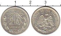 Изображение Монеты Северная Америка Мексика 20 сентаво 1934 Серебро XF