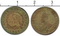 Изображение Монеты Западная Африка 3 пенса 1925 Латунь VF