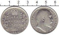 Изображение Монеты Индия 1 рупия 1904 Серебро XF Эдуард VII