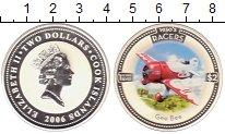 Изображение Монеты Острова Кука 2 доллара 2006 Серебро Proof