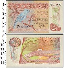 Продать Банкноты Суринам 2 1/2 гульдена 1985