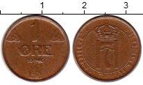 Изображение Монеты Норвегия 1 эре 1946 Бронза XF Хокон VII