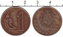 Изображение Монеты Уругвай 1 песо 1980 Медно-никель VF