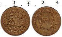Изображение Монеты Северная Америка Мексика 5 сентаво 1967 Бронза XF