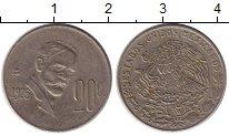 Изображение Монеты Мексика 20 сентаво 1975 Медно-никель XF