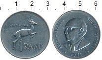 Изображение Монеты Африка ЮАР 1 ранд 1979 Медно-никель XF-