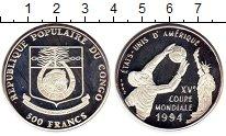 Изображение Монеты Африка Конго 500 франков 1992 Серебро Proof-