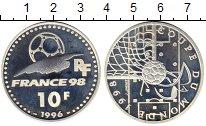 Изображение Монеты Франция 10 франков 1996 Серебро Proof-