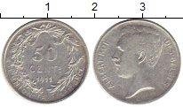 Изображение Монеты Бельгия 50 сантим 1911 Серебро XF