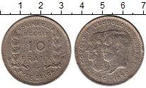 Изображение Монеты Бельгия 10 франков 1930 Медно-никель VF