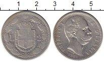 Изображение Монеты Италия 2 лиры 1881 Серебро VF
