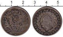 Изображение Монеты Европа Австрия 10 крейцеров 1776 Серебро VF