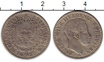 Изображение Монеты Германия Пруссия 1/6 талера 1825 Серебро VF