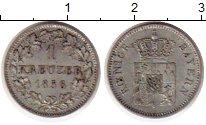 Изображение Монеты Бавария 1 крейцер 1856 Серебро VF