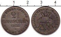 Изображение Монеты Германия Ольденбург 2 1/2 гроша 1858 Серебро VF