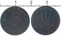 Изображение Монеты Европа Австрия 5 грош 1955 Цинк XF