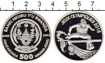Изображение Монеты Африка Руанда 500 франков 2013 Серебро Proof