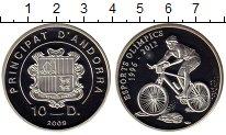 Изображение Монеты Андорра 10 динерс 2009 Серебро Proof-