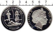 Изображение Монеты Фиджи 10 долларов 2010 Серебро Proof