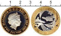 Изображение Монеты Европа Великобритания 2 фунта 2012 Серебро Proof