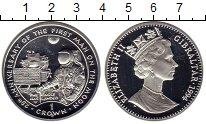 Изображение Монеты Великобритания Гибралтар 1 крона 1994 Серебро Proof