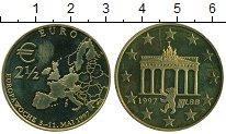Изображение Монеты Германия 2 1/2 евро 1997 Латунь UNC-